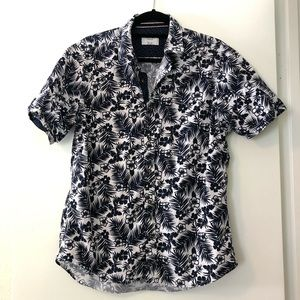 Level Ten Men's Hawaiian Aloha Shirt Size L
